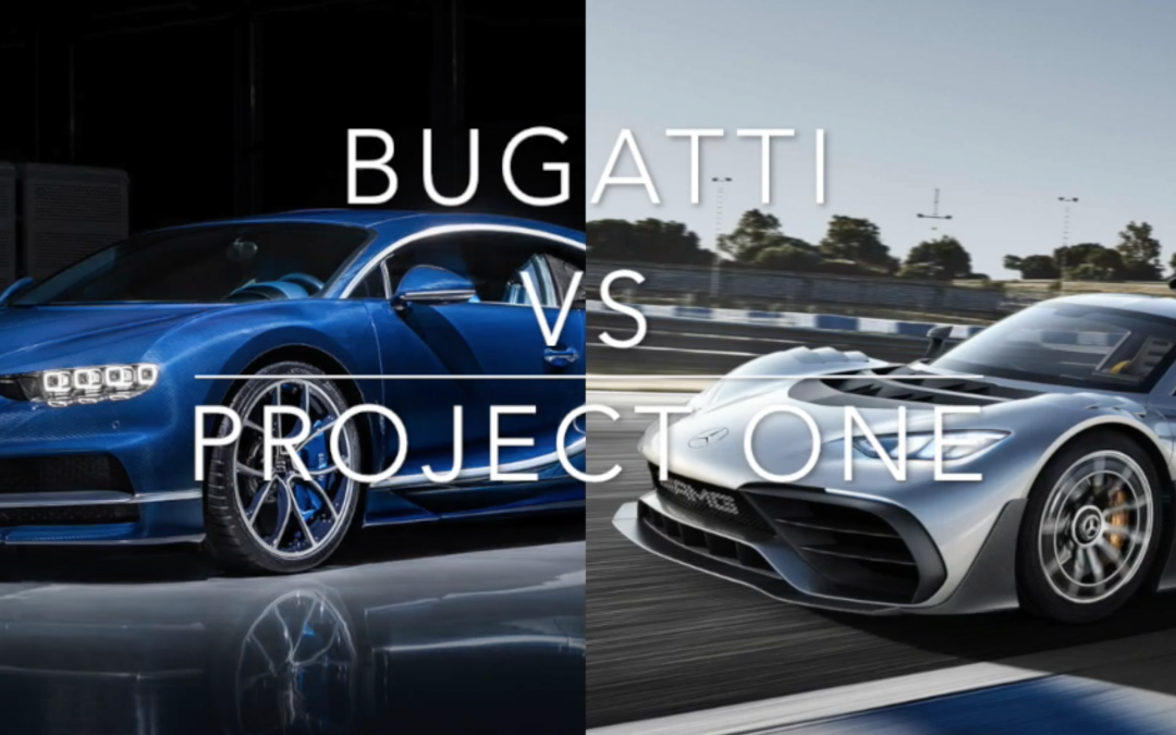 Bugatti vs Project One