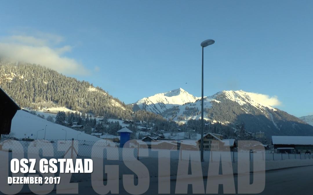 OSZ Gstaad im Schnee